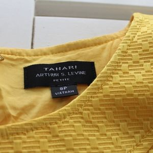 Tahari Dresses - Tahari yellow dress